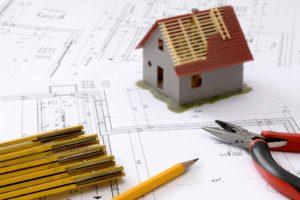 Baupläne für Hausbau